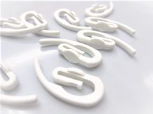 Genuine SWISH brand white curtain tape hooks High quality plastic nylon hook